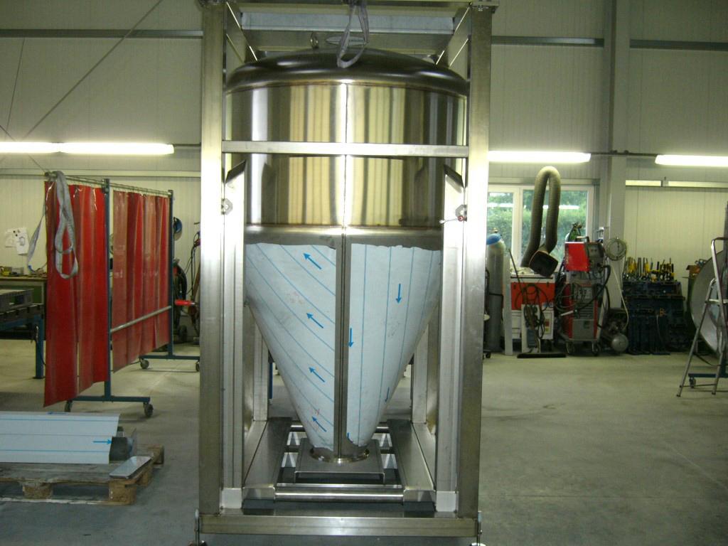Zutatencontainer - Behälter und Gestell außen Korn 320